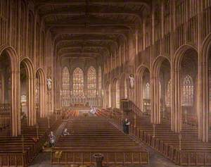Interior of St Michael's Church, Coventry