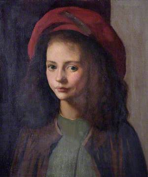 The Red Hat, An Italian Child
