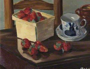 Strawberries and Still Life