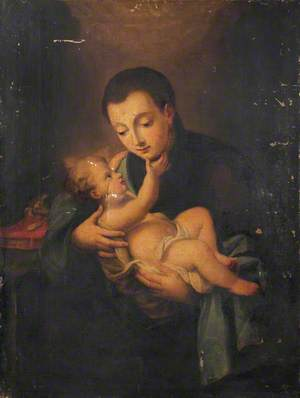 Saint Anthony with the Infant Jesus*