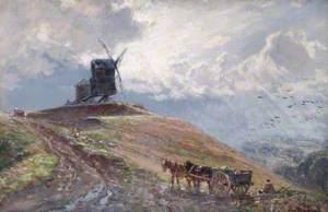 A Warwickshire Beacon, Burton Dassett