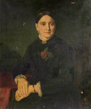 Mrs F. D. Robertson, née Kinder, Founder of the Nuneaton Chronicle