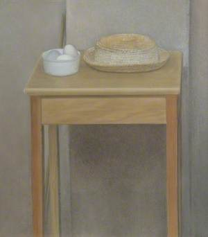 Still Life on a Tall Stool