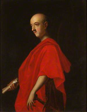 General Sir John Guise (1682/1683–1765), as a Roman Senator