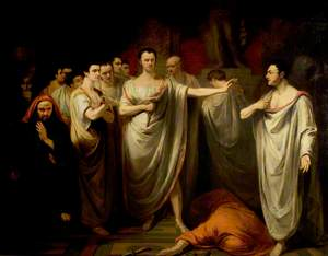 'Julius Caesar', Act III, Scene 2, the Murder Scene