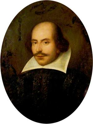 The Venice Portrait of William Shakespeare (1564–1616)