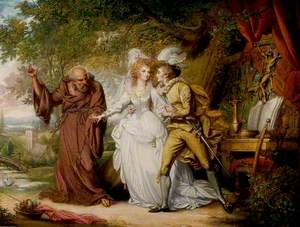 'Romeo and Juliet', Act II, Scene 4, Romeo and Juliet with Friar Lawrence