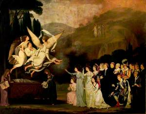 The Apotheosis of Garrick