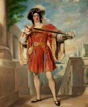 James William Wallack (c.1794–1864), as Mercutio