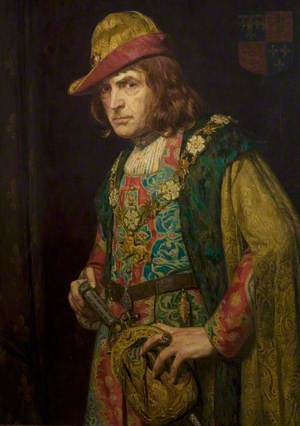 Sir John Martin-Harvey (1863–1944), as Richard III