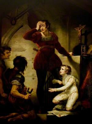 'King John', Act IV, Scene 1, Hubert and Arthur
