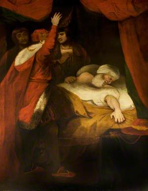 'Henry VI', Part II, Act III, Scene 3, the Death of Cardinal Beaufort