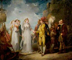 'Love's Labour's Lost', Act II, Scene 1, the Arrival of the Princess of France