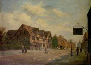 Shakespeare's Birthplace, Henley Street, Stratford-upon-Avon, Warwickshire