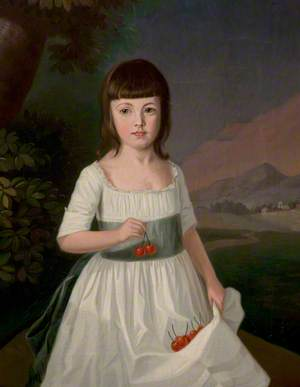Mary Southam, as a Girl