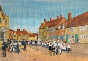 May Day, High Street, Knowle, Warwickshire