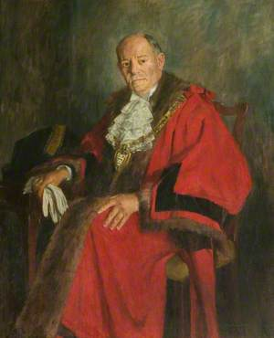 Robert Douglas Cooper, JP, First Mayor of Solihull (1954–1955)