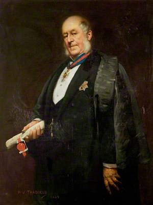 Sir Arthur Hodgson, KCMG, DL, JP, Mayor (1883–1888), High Steward (1896–1902)