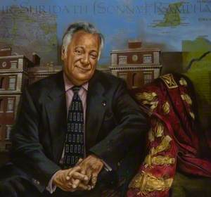Sir Shridath Ramphal (b.1928), Chancellor of the University (1989–2002)