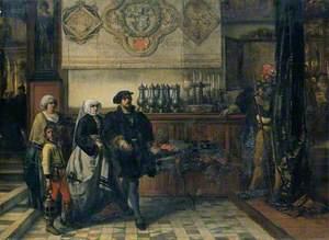 Frans Floris Going to a Saint Luke's Day Feast, 1540