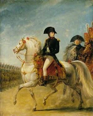 General Bonaparte Reviewing Troops