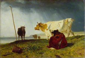 Cattle in Stormy Weather