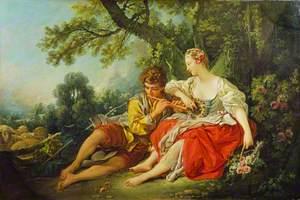 Shepherd Piping to a Shepherdess
