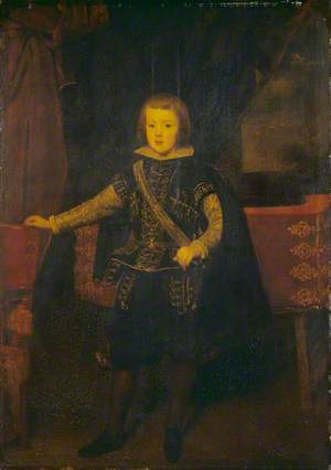 Prince Baltasar Carlos in Black and Silver