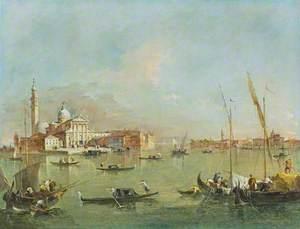 Venice: San Giorgio Maggiore with the Giudecca and the Zitelle