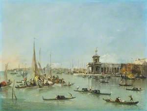 Venice: the Dogana with the Giudecca