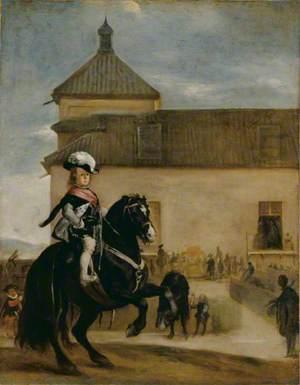 Prince Baltasar Carlos in the Riding School