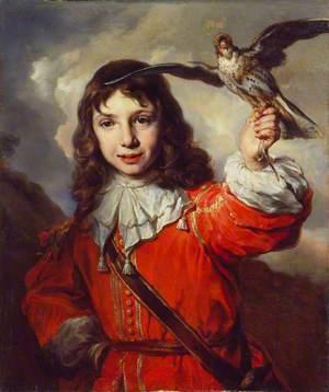 A Boy with a Falcon