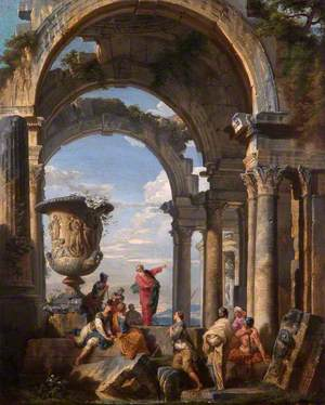 Saint Paul Preaching at Athens