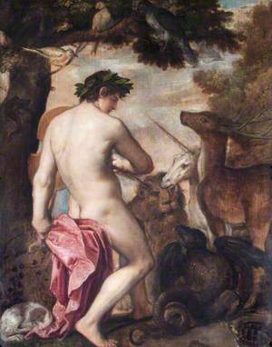 Orpheus Enchanting the Animals