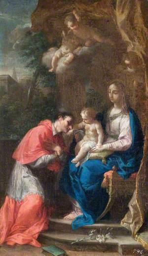 The Virgin and Child with Saint Carlo Borromeo
