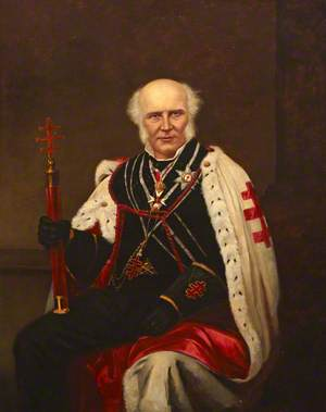 William Stuart (1798–1874), Grand Master of the Knights Templar (1861–1872)