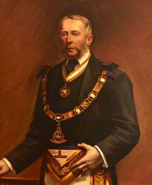 Right Honourable W. W. B. Beach, MP, Grand Master (1866–1869)