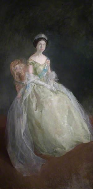 Study for 'Elizabeth II (b.1926)'