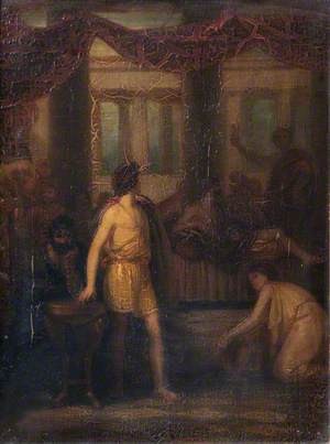 The Slaughter of the Suitors of Penelope