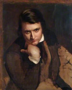 Study for a Portrait of E. M. Ward