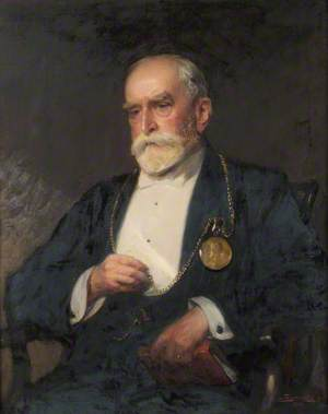 Sir Edward Poynter (1836–1919), President of the Royal Academy