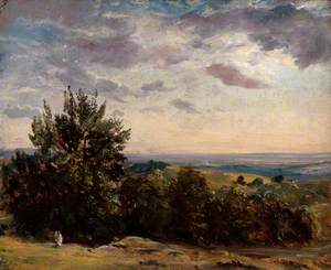 Landscape Study: Hampstead Looking West