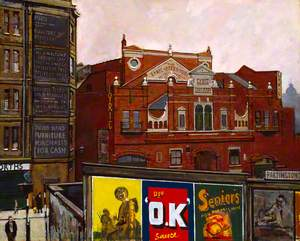 The Old Lyric Theatre, Hammersmith, 1943