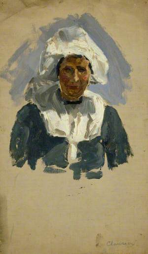 Study of a Dutch Woman (Volendam)