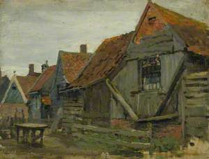 Study of Wooden Houses (Holland)