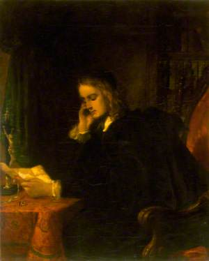 Portrait of Abelard in His Study