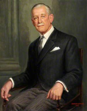 Major General Richard L. Bond (1890–1979), CB, CBE, DSO, MC, Hon. FRAM