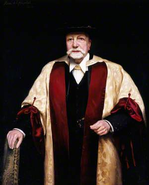 Sir Alexander Campbell Mackenzie (1847–1935), KCVO, MusDoc, FRAM, Principal of the Royal Academy of Music (1888–1924)