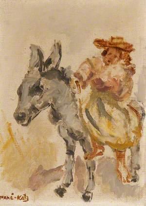 A Figure on a Donkey