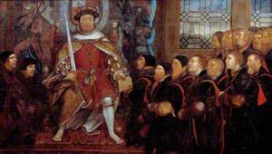 Henry VIII with the Barber-Surgeons